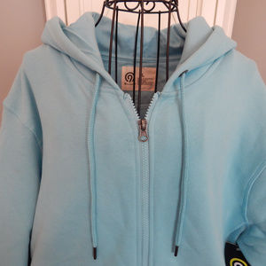 Men's C9 Champion Soft Fleece Zip Hoody Aqua